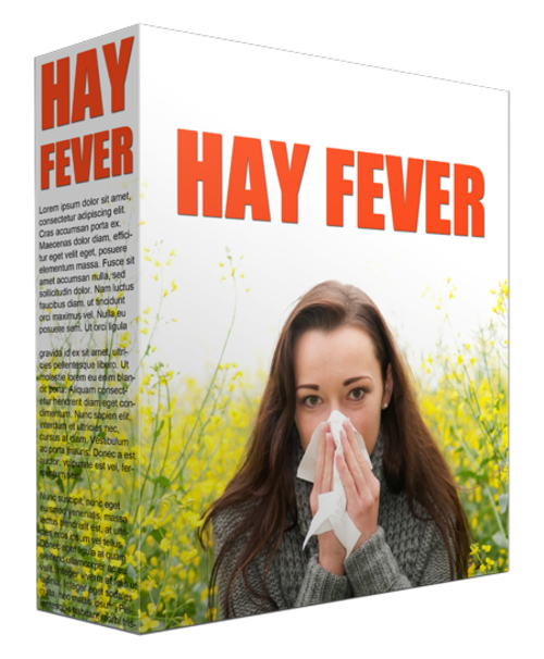 Product picture 10 Hay Fever MRR Articles - Stuffiness And Watery, Red Eyes